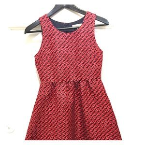 Anthropologie Lili Wang For Lilis Closet Red Dress